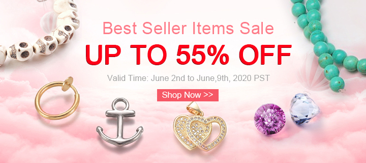 Best Seller Items Sale Up to 55% OFF Valid Time: June 2nd to June,9th, 2020 PST