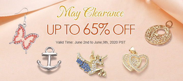 May Clearance Up to 65% OFF