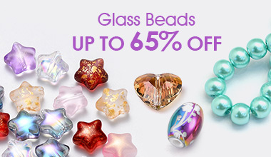 Glass Beads  Up to 65% OFF  Up to 65% OFF