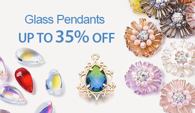 Glass Pendants  Up to 35% OFF