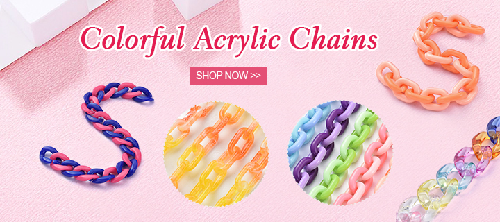 Colorful Acrylic Chains