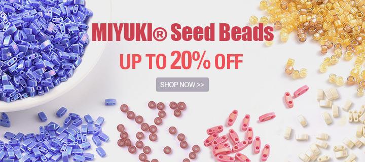 MIYUKI® Seed Beads Up to 20% OFF