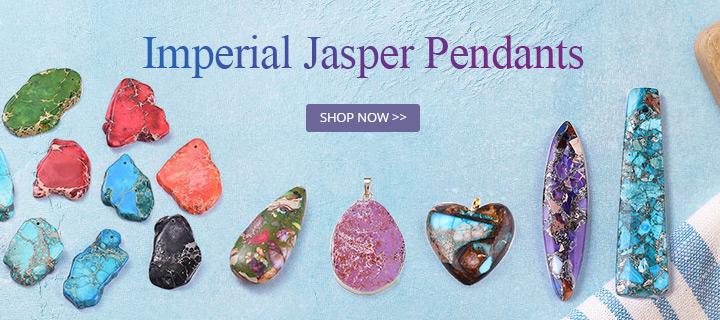 Imperial Jasper Pendants Shop Now