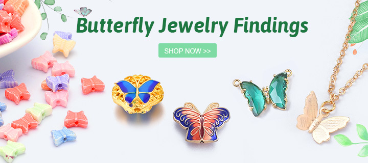 Butterfly Jewelry Findings