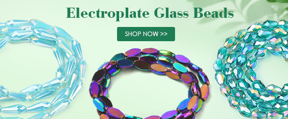 Electroplate Glass Beads