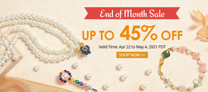 Amazing April Sale Up to 55% OFF Valid Time: Apr 7 to Apr 21, 2021 PDT  Valid Time: Apr 1 to Apr 6, 2021 PDT