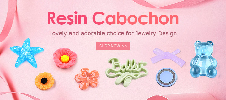 Resin Cabochon Lovely and adorable choice for Jewelry Design Shop Now