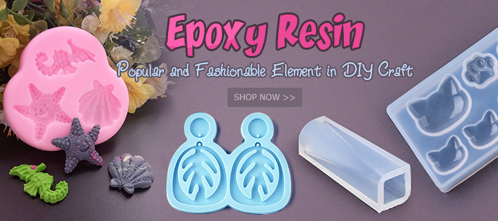 Epoxy Resin Popular and Fashionable Element in DIY Craft Shop Now