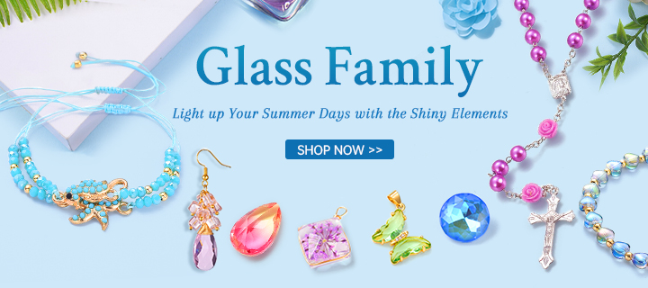 Glass Family Light up Your Summer Days with the Shiny Elements Shop Now