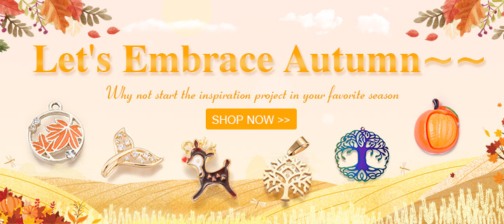 Let's Embrace Autumn~~ Why not start the inspiration project in your favorite season Shop Now