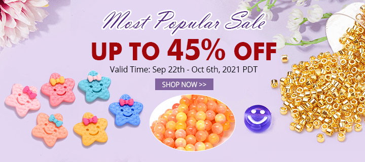 Most Popular Items Up to 45% OFF