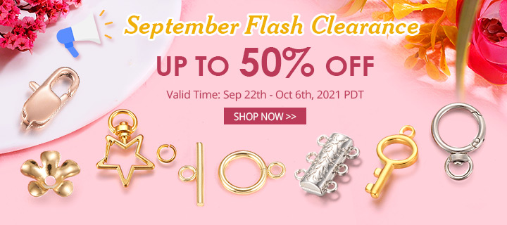 September Flash Clearance Up to 50% OFF