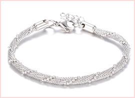 Twisted Chain Bracelets