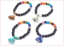 Chakra Stretch Bracelets