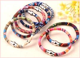 Nylon Cloth Cord Bracelets