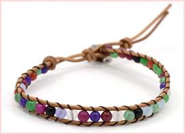 Cord Beaded Bracelets