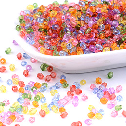 Acrylic Beads-Transparent