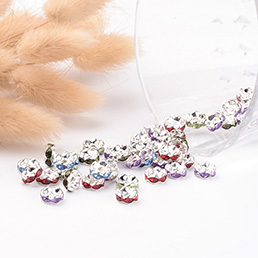 Rhinestone Spacer Beads
