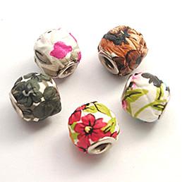 Fabric European Beads