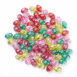 Acrylic Pony Beads For Bulk Sale for jewelry making and for retail