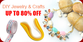DIY Jewelry & Crafts UP TO 80% OFF
