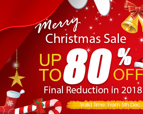 Merry Christams Sale UP TO 75% OFF