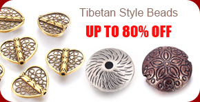 Tibetan Style Beads UP TO 80% OFF