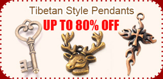 Tibetan Style Pendants UP TO 80% OFF