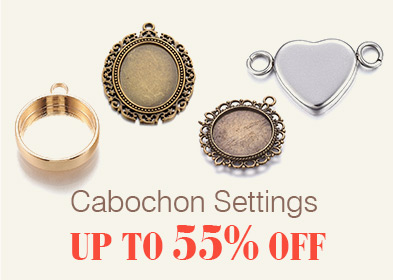 Cabochon Settings Up to 55% OFF