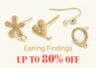 Earring Findings Up to 80% OFF