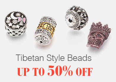 Tibetan Style Beads Up to 50% OFF