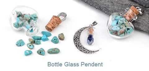 Bottle Glass Pendent