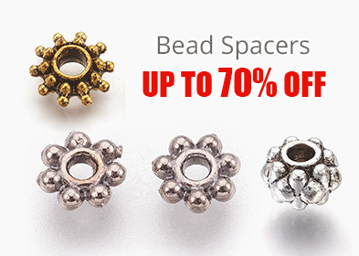 Bead Spacers Up to 70% OFF