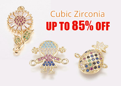 Cubic Zirconia Up to 85% OFF