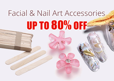 Facial & Nail Art Accessories Up to 80% OFF