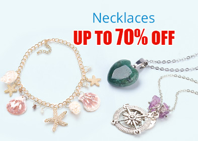 Necklaces Up to 70% OFF
