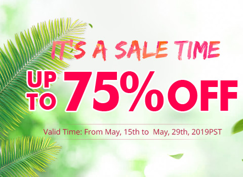 It's A Sale Time Up To 75% OFF