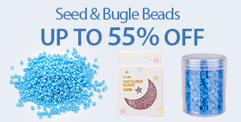 Seed & Bugle Beads UP TO 55% OFF