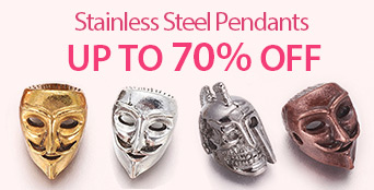 Stainless Steel Pendants UP TO 70% OFF