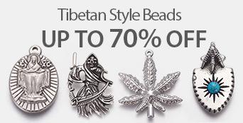 Tibetan Style Beads UP TO 70% OFF