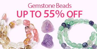 Gemstone Beads Up to 55% OFF