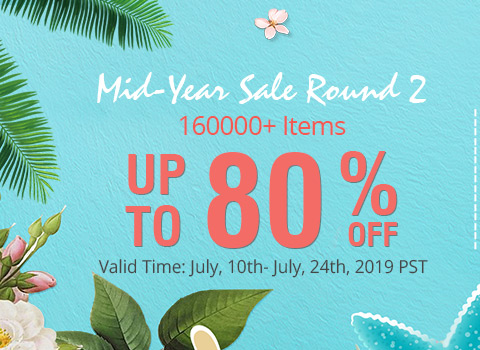 Mid-Year Sale Round 2 160000+ Items Up to 80% OFF
