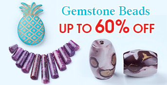 Gemstone Beads Up to 60% OFF