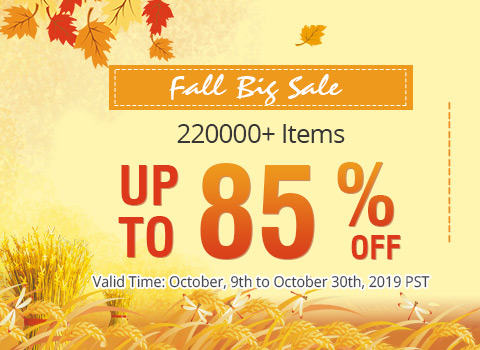 Fall Big Sale 220000+ Items Up to 85% OFF