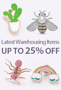 Latest Warehousing Items Up to 25% OFF