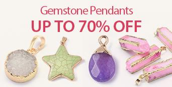Gemstone Pendants Up to 70% OFF