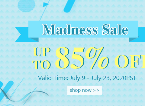 Madness Sale Up To 85% OFF