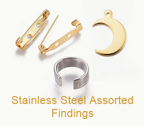 Stainless Steel Assorted Findings