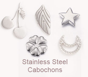Stainless Steel Cabochons