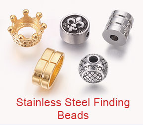 Stainless Steel Finding Beads